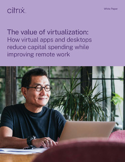 How virtual apps and desktops reduce capital spending while improving remote