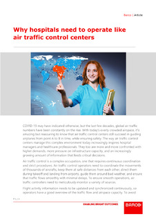 Why hospitals need to operate like air traffic control centers