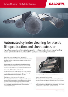Surface Cleaning – Film Cylinder Cleaning