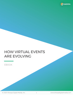 How Virtual Events Are Evolving