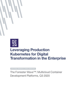 Leveraging Production Kubernetes for Digital Transformation in the Enterprise