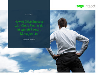 How to Drive Success with Cloud Financials in Wealth and Asset Management