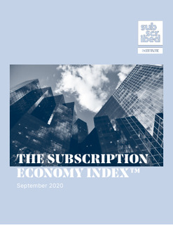 The Subscription Economy Index™