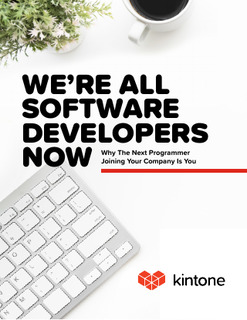 We're All Software Developers Now