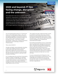 2020 and Beyond: IT Ops Facing Change, Disruption and the Unknown