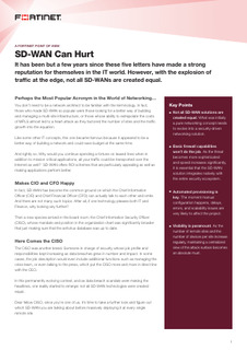 SD-WAN Can Hurt