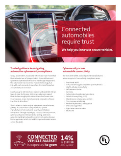 Connected Automobiles Require Trust