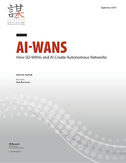 ZK Research – AI-WAN How AI and SD-WAN Create Autonomous Networks