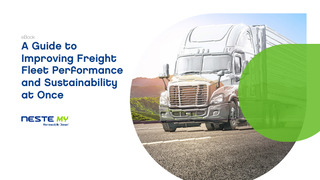 A Guide to Improving Freight Fleet Performance and Sustainability at Once