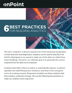6 Best Practices for Building Analytics