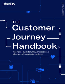 The Customer Journey Handbook