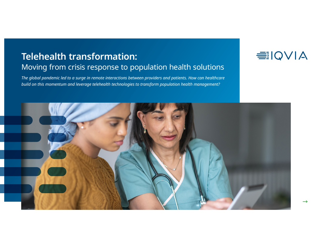 Telehealth Transformation: Moving from Crisis Response to Population Health Solutions