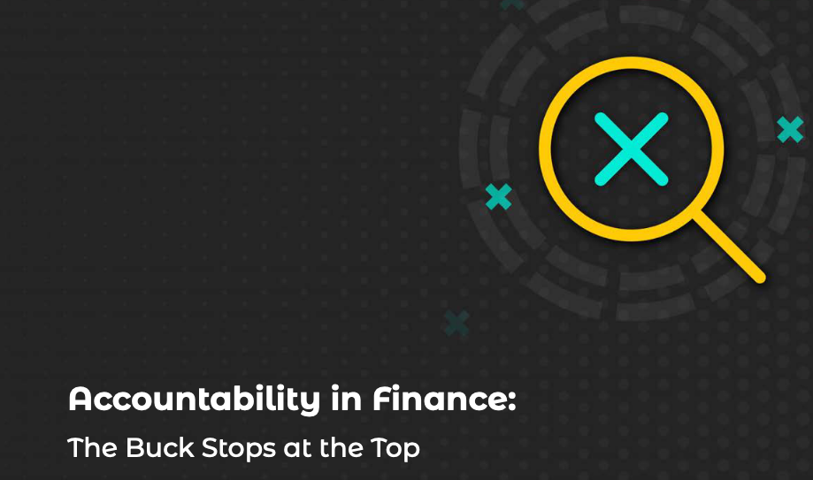 Accountability in Finance: The Buck Stops at the Top