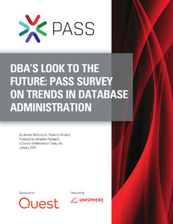 Database Professionals Look To The Future: 2020 Trends in Database Administration
