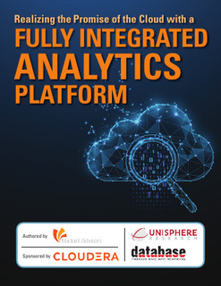 Realizing the Promise of Cloud with a Fully Integrated Analytics Platform