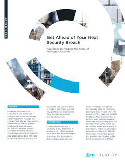 Get Ahead of Your Next Security Breach