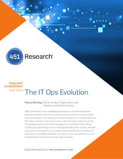 The IT Ops Evolution