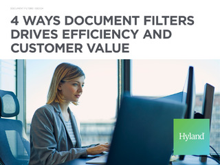 Four Ways Document Filters Drives Efficiency and Customer Value