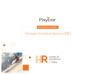 Paycor CFO Survey The State of American Business: 2021