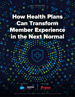 How Health Plans Can Transform Member Experience in the Next Normal