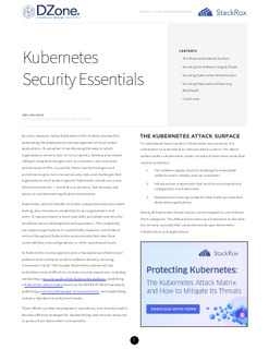 Kubernetes Security Essentials