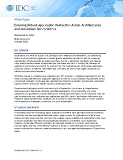Why you need comprehensive application protection across multi-cloud environments