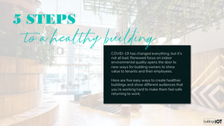 5 Steps to a Healthy Building