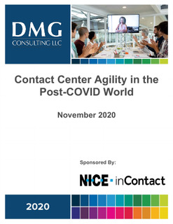 Contact Center Agility in a Post-COVID World