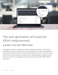 The Next Generation of Customer Effort Measurement