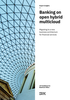 BANKING: Banking on open hybrid cloud