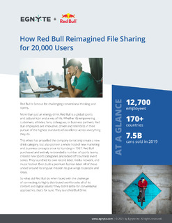 How Red Bull Reimagined File Sharing for 20,000 Users