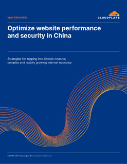 Optimize Website Performance and Security in China