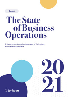 The State of Business Operations
