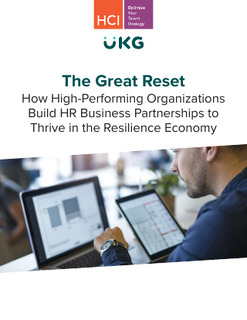 The Great Reset: How High-Performing Organizations Build HR Business Partnerships