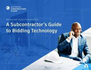 A Subcontractors Guide to Bidding Technology