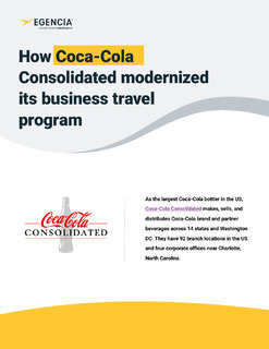 Coca-Cola Consolidated Case Study: Finding the Right Fit for Modern Business Travel