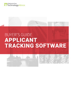 Applicant Tracking System Buyer's Guide
