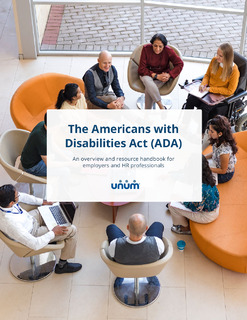 The ADA Handbook for HR Professionals