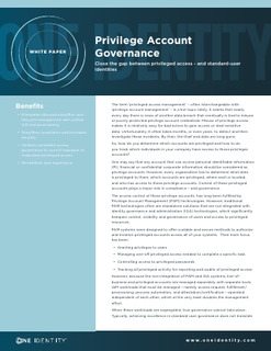 Protected: Privilege Account Governance – Close the Gap Between Privileged Access and Standard-User Identities