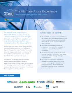 The Ultimate Azure Experience Reach New Heights in the Cloud