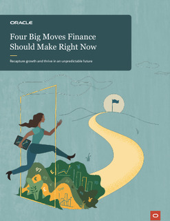 4 Big Moves Finance Should Make Right Now