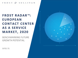 Frost Radar™: European Contact Center as a Service Market, 2020