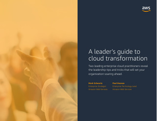 A Leader's Guide to Cloud Transformation