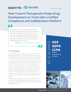 How Travere Therapeutics Keeps Drug Development on Track with a Unified Compliance and Collaboration Platform