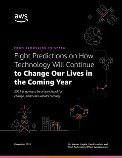 Eight Predictions on How Technology Will Continue to Change Our Lives in the Coming Year