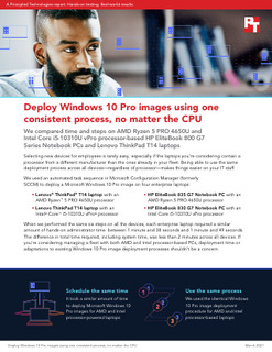 Deploy Windows 10 Pro Images Using One Consistent Process, No Matter the CPU