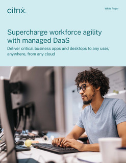 Supercharge your virtualization agility with managed DaaS