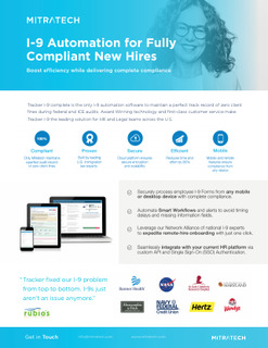 Brochure: I-9 Automation for Fully Compliant New Hires