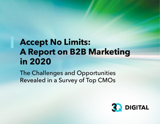 B2B CMO Report: COVID-Era Challenges and Opportunities Uncovered