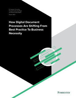 How Digital Processes are Shifting from Best Practice to Business Necessity